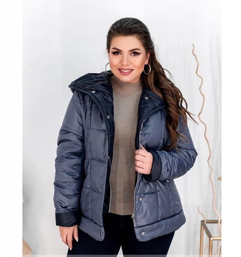Куртка Minova 8-204-деним-синий
