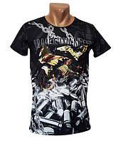 Дизайнерская черная футболка Mastiff - №4954, фото 1