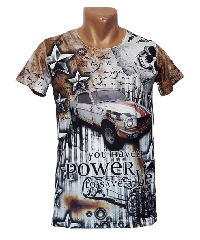 Обтягивающая футболка Mastiff - №4956