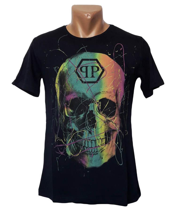 Мужская футболка с рисунком Sport Line - №4965