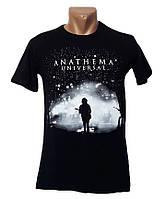 Черная футболка с принтом Sport Line - №4966