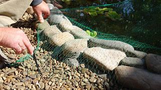 Защитные cетки для прудов и водоемов