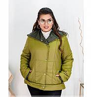 Куртка Minova 8-204-горчица-хаки