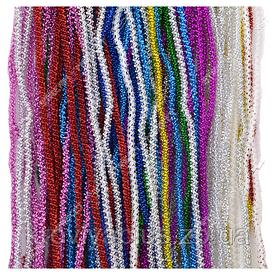 Новогодняя мишура разноцветная КОЛОСОК, длина=1, 5м