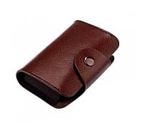 Кредитница картхолдер визитница карточница карманная, кожа