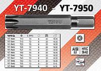 Биты ударные 8х70мм TORX T45 20шт, YATO  YT-7947.