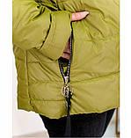 Куртка Minova 17-191-горчица, фото 2
