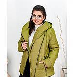 Куртка Minova 17-191-горчица, фото 4