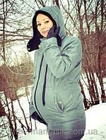 Зимняя куртка для беременной(фото клиентки)