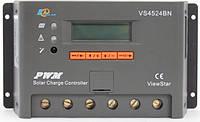 Контроллер, ШИМ 45А 12/24В с дисплеем, (VS4524BN) EPSolar, фото 1
