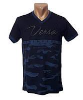 Мужская трикотажная футболка Sport Line - №4971