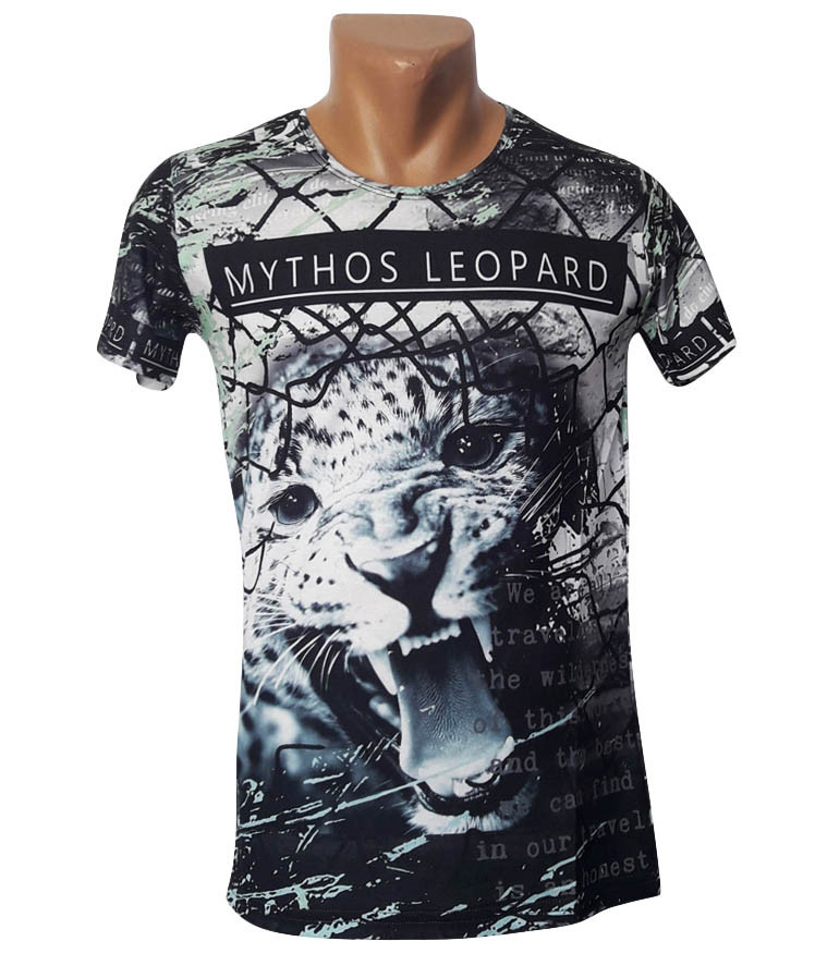 Футболка Леопард Mastiff - №4978
