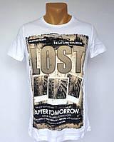 Коричневая футболка Millionaire - №1395