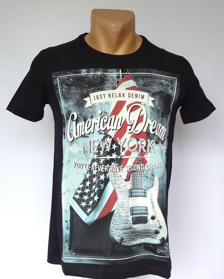 Американская футболка Just Relax - №1501