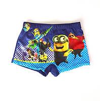 Плавки шорты для мальчиков Minions - №1549