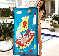 Пляжное полотенце для детей Sport Line - №1629