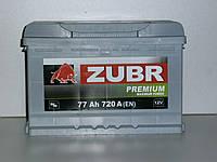 Аккумулятор Zubr Premium (Зубр) 77 Ah  720 А, фото 1