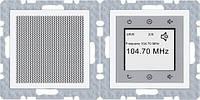 Radio Touch с динамиком Berker В.3 (полярная белизна, матовый)