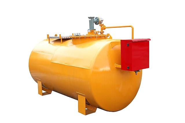 Мобильная АЗС для хранения и заправки дизельного топлива, бензина, объем 10000 литров