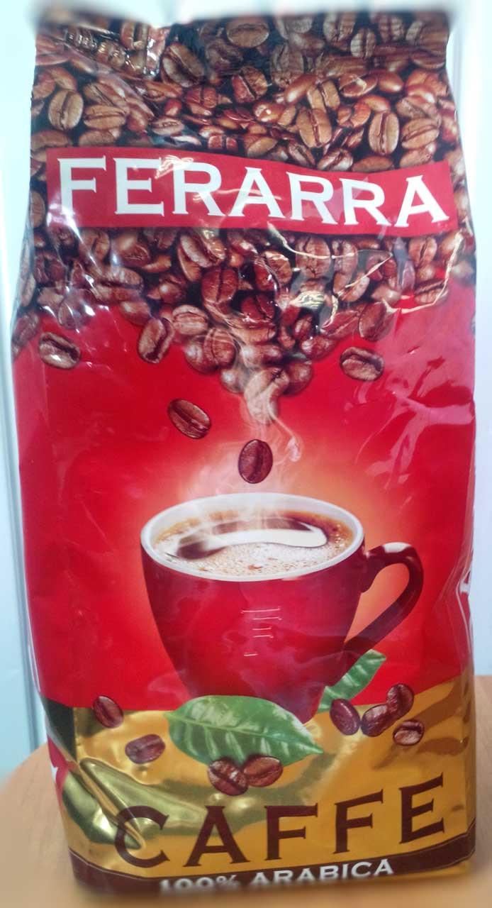 Кофе Ferarra Caffe 100% Arabica в зернах 1 кг