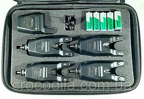 Набор электронных сигнализаторов поклевки с пейджером  Feima 4+1 Multicolor