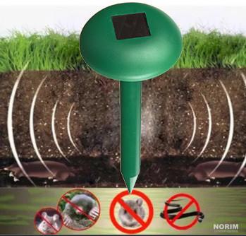 Отпугиватель грызунов на солнечной батарее Solar Rodent Repeller HC 18