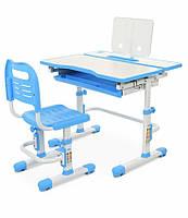 Детский стол со стулом Bambi BL 4253-4 Синий с белым (BL 4253-4)