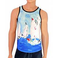 Модная мужская майка True Color Sport Line - №2481
