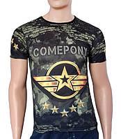 Мужская брутальная футболка Sport Line - №2687