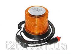 Мигалка светодиодная 117*87.5*103 12-24V 30LED оранжевая