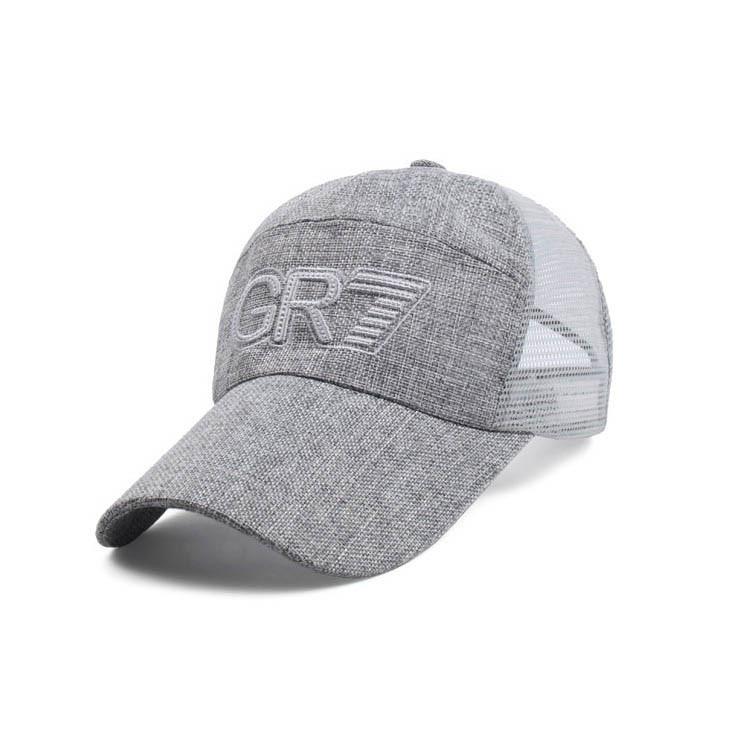 Стильная кепка с сеткой сзади GR7  SGS - №2932
