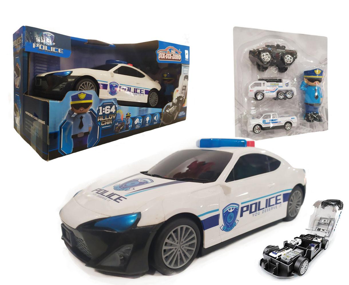 Машина-гараж police 660-A206
