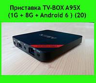 Приставка TV-BOX A95X (1G + 8G + Android 6 ) (20)!Акция