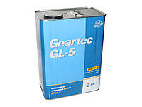 Масло редукторное KIXX GEARTEC 75W-90 4л GL-5, MIL-L-2105D синтетика