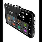 Автомобильный Видеорегистратор DVR E-9 Super HD 2 камеры, фото 2