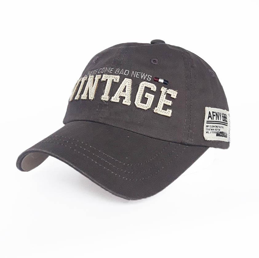 Чоловіча бейсболка Vintage - №3742