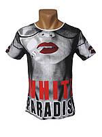 Подростковые футболки White Paradise - №4040