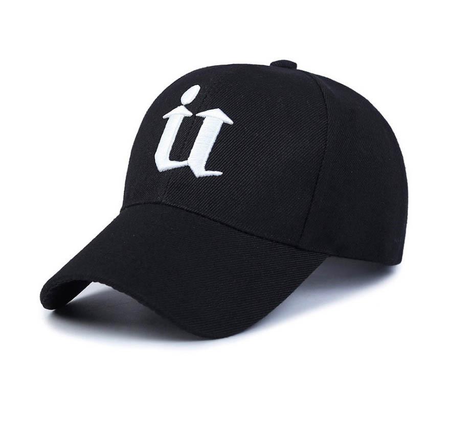 Стильная черная кепка SGS - №4126