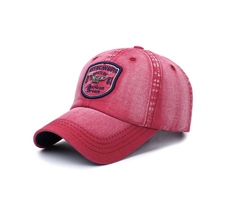 Красная бейсболка American Guys SGS - №4160