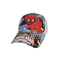 Модная детская кепка Spider -Man Sport Line - №4098