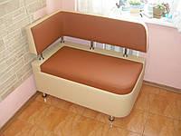 Кухонный диван «Т5 R» с боковой спинкой