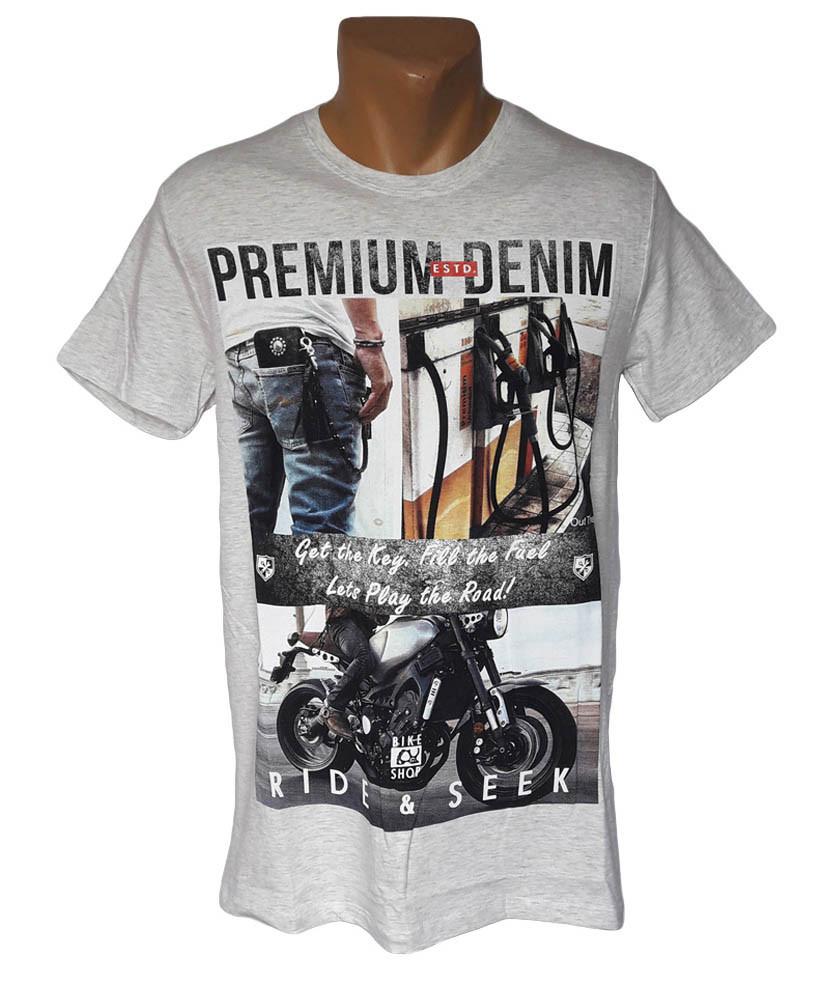 Мужская футболка хб Highlander - №4249
