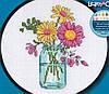 """72-74550 Набор для вышивания крестом """"Летние цветы//Summer Flower"""" DIMENSIONS"""