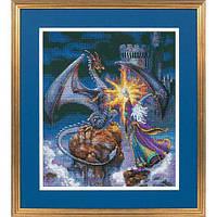 """35080 Набор для вышивания крестом """"Великолепный волшебник//Magnificent Wizard"""" DIMENSIONS"""