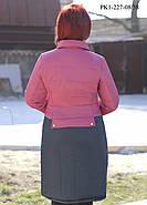 Женское пальто из плащевки на осень размер 44,46, фото 2