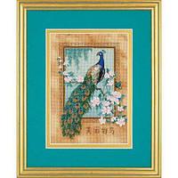 """06870 Набор для вышивания крестом """"Красивая птица//Beautiful Bird"""" DIMENSIONS"""