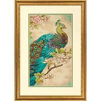 """70-35293 Набор для вышивания крестом """"Индийский павлин//Indian Peacock DIMENSIONS"""