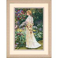 """35119 Набор для вышивания крестом """"В ее саду//In Her Garden"""" DIMENSIONS"""