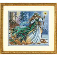 """35173 Набор для вышивания крестом """"Лесная волшебница//Woodland Enchantress"""" DIMENSIONS"""