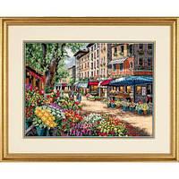 """35256 Набор для вышивания крестом """"Рынками Парижа//Paris Market"""" DIMENSIONS"""